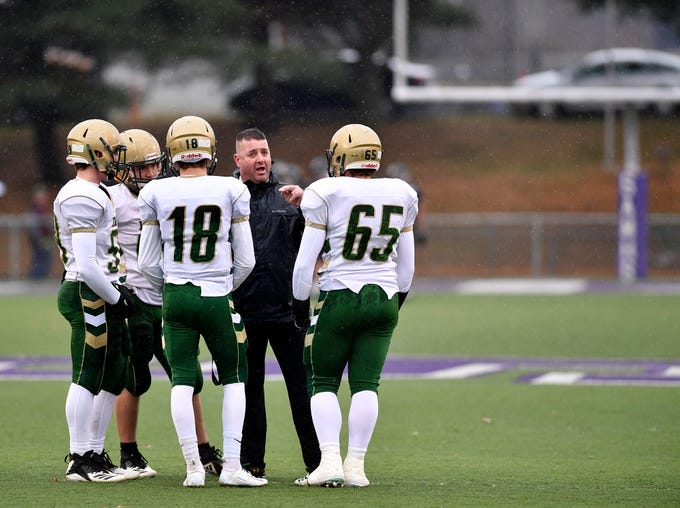 York Catholic faces Southern Columbia in the PIAA Class 2-A quarterfinal football game, Saturday, November 24, 2018. 