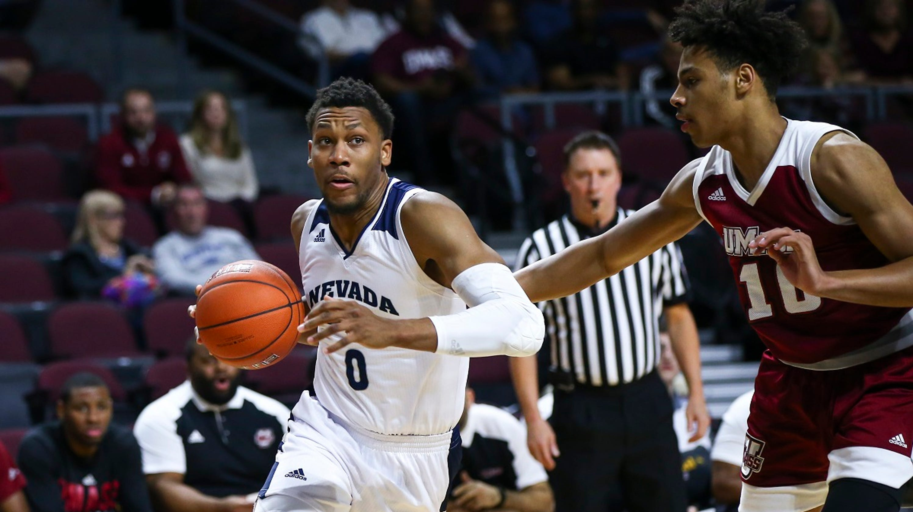 wolf pack drops 110 points on umass to win las vegas tournament title