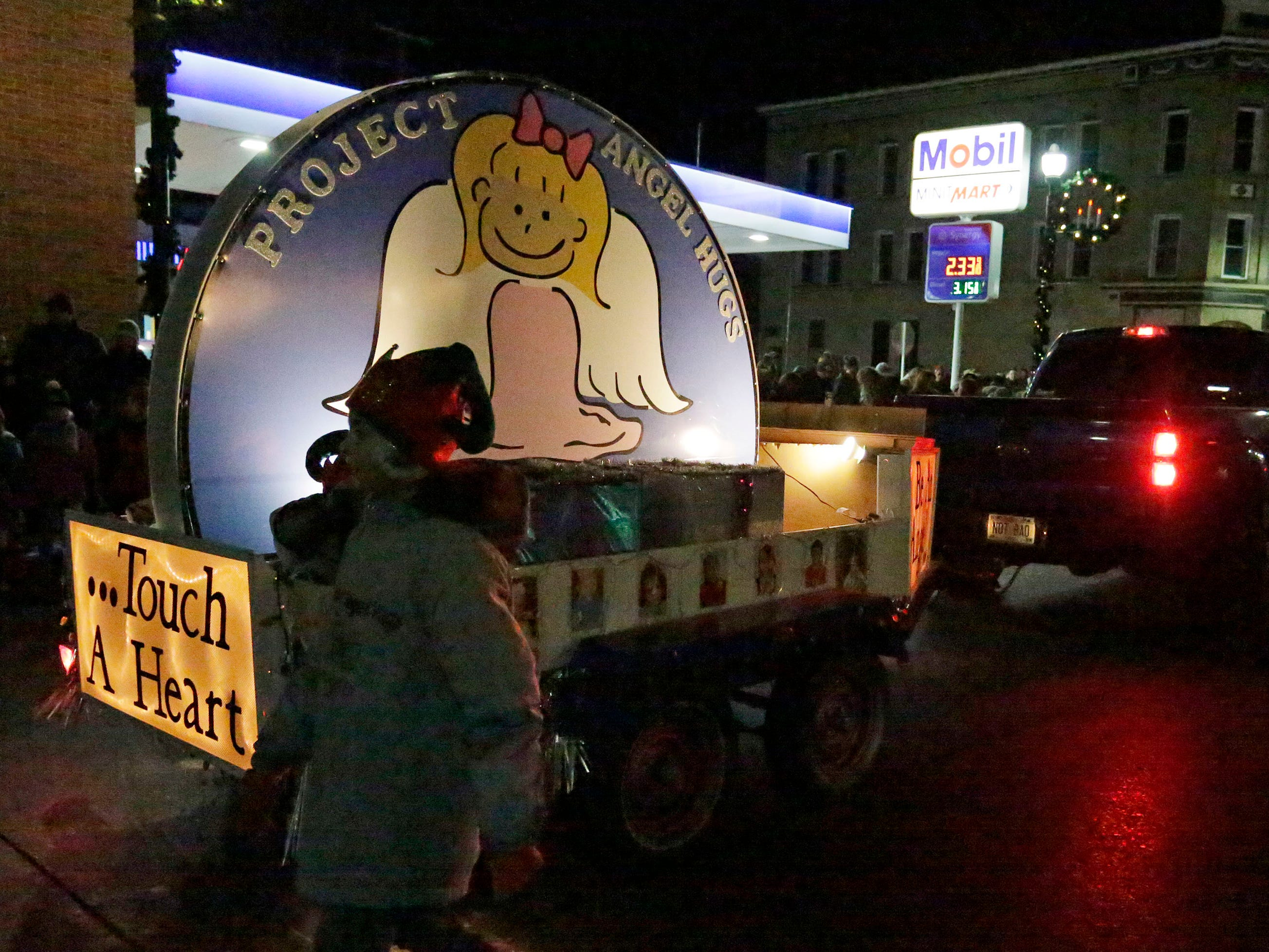 Scenes from the Plymouth Christmas Parade, Friday, November 23, 2018, in Plymouth, Wis.
