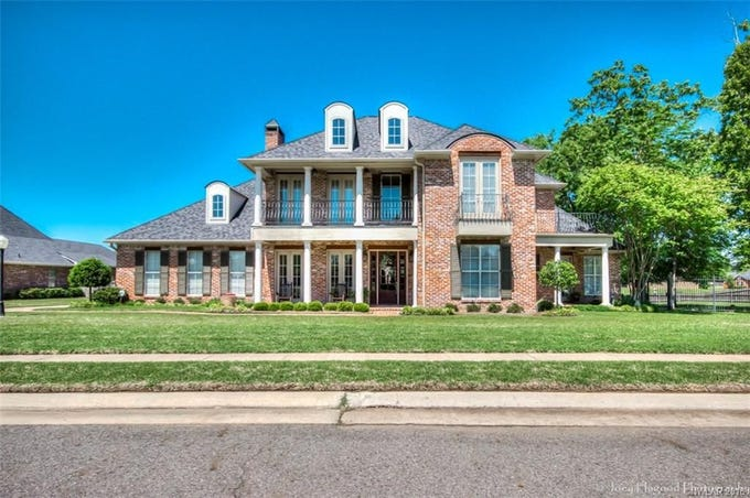 9946 Burgundy Oaks Drive, Shreveport  Price: $444,900  Details: 4 bedrooms, 4 bathrooms, 4,180 square feet  Special features: Prestigious lakefront home in gated subdivision,  bonus room can be 5th bedroom, outdoor oasis with pool and pool house.  Contact: Jerry Wynn, 470-7793