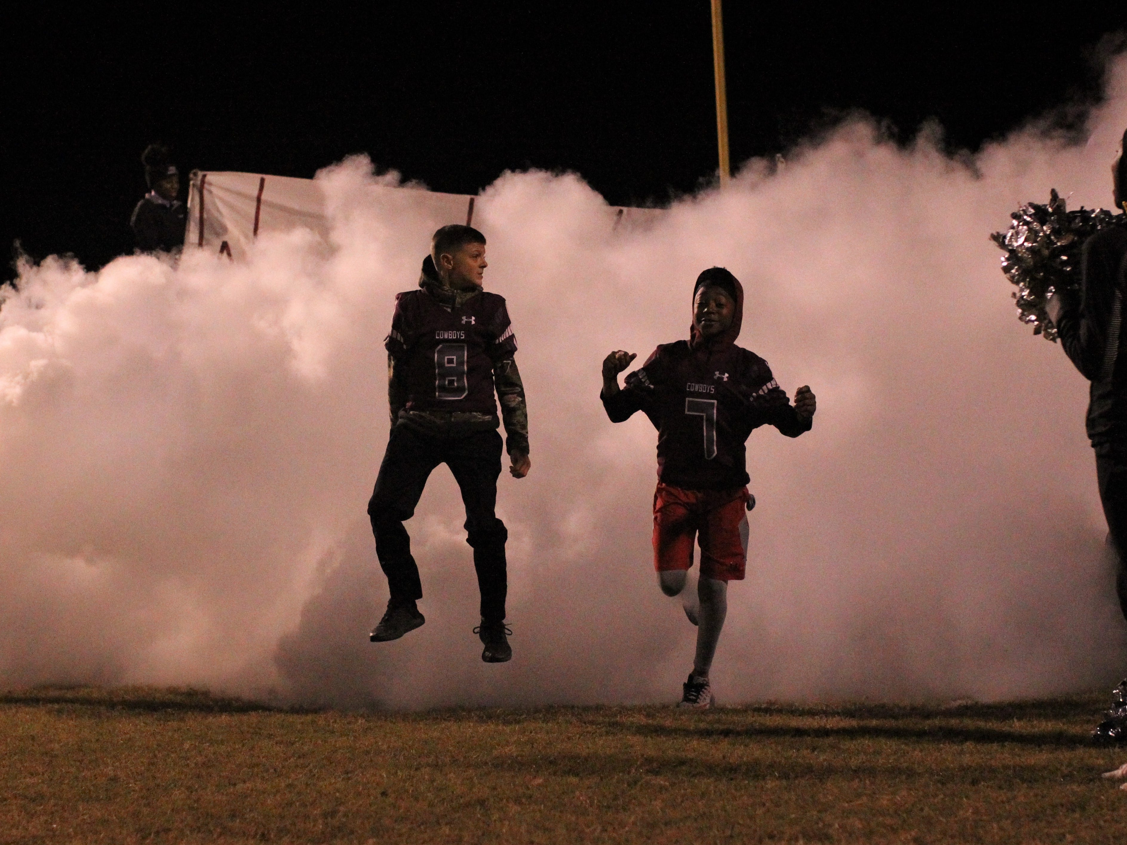 Madison County beat Chiefland 49-14 in a Region 3-1A final at Boot Hill Stadium on Friday, Nov. 23, 2018.