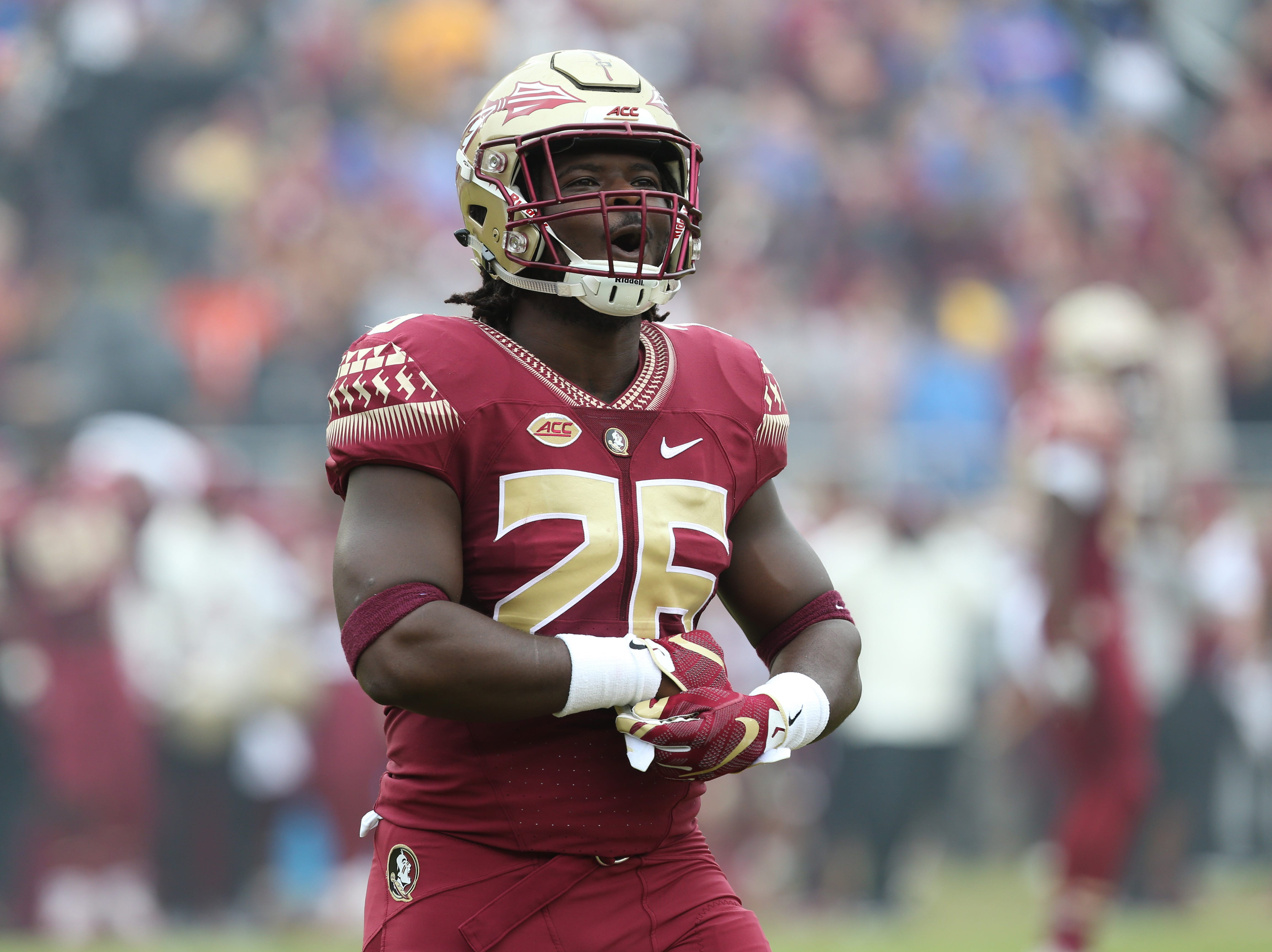The Florida State Seminoles take on their rival the Florida Gators in college football at Doak S. Campbell Stadium, Saturday, Nov. 24, 2018.