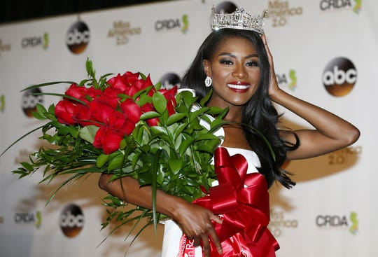 """Miss America 2019 Nia Franklin, an accomplished composer and classically trained opera singer, will join the Bay Atlantic Symphony for its """"Holiday Cheer"""" concerts."""