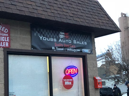The auto-body shop in West Nyack where Clarkstown police say Youbens Joseph was shot in the torso Saturday, Nov. 24, 2018. He died the following day.