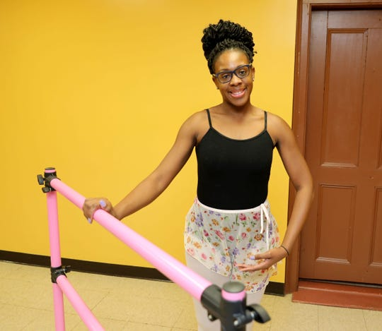 Ashley Watts, 28, will be teaching ballet, tap and liturgical dance during a new free dance academy she is starting at the Calvary Baptist Church in Haverstraw. Here she is pictured at the church, Nov. 24, 2018.