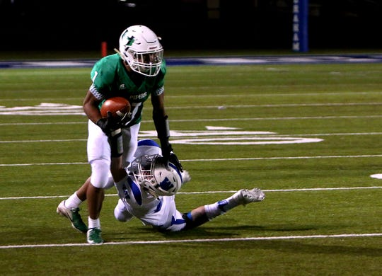 Hamlin's Jevon Williams (1) could be a key player in Thursday's rematch against Albany.