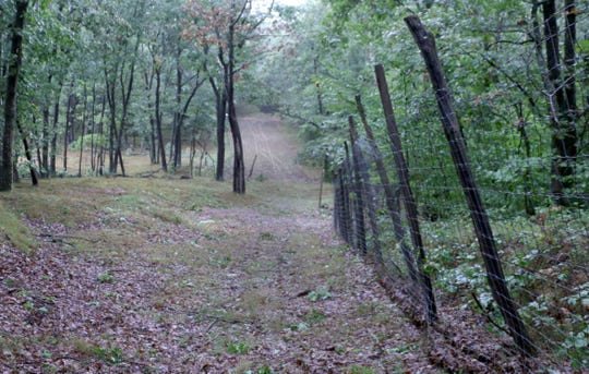 Deer farms in Wisconsin, including Woods and Meadow Hunting Preserve in Warrens, Wis., may be required to install enhanced fencing next year to avoid the spread of chronic wasting disease. The owners of such deer farms say the requirement is not proven to stop CWD spread and could put them out of business. There have been no CWD-positive tests from this farm. Photo taken Sept. 20, 2018.