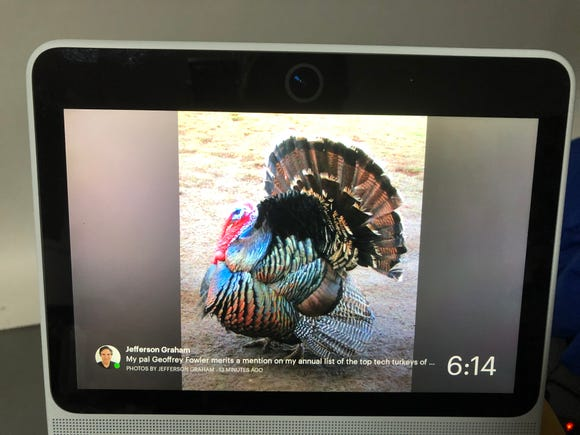 Our 2018 Tech Turkey of the year goes to Facebook Portal