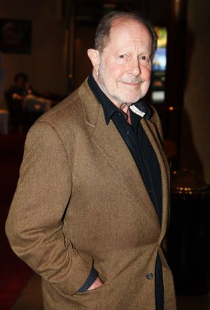 Director Nicholas Roeg arrives at the Puffball Premier at the Empire Leicester Square on July 17, 2008 in London.