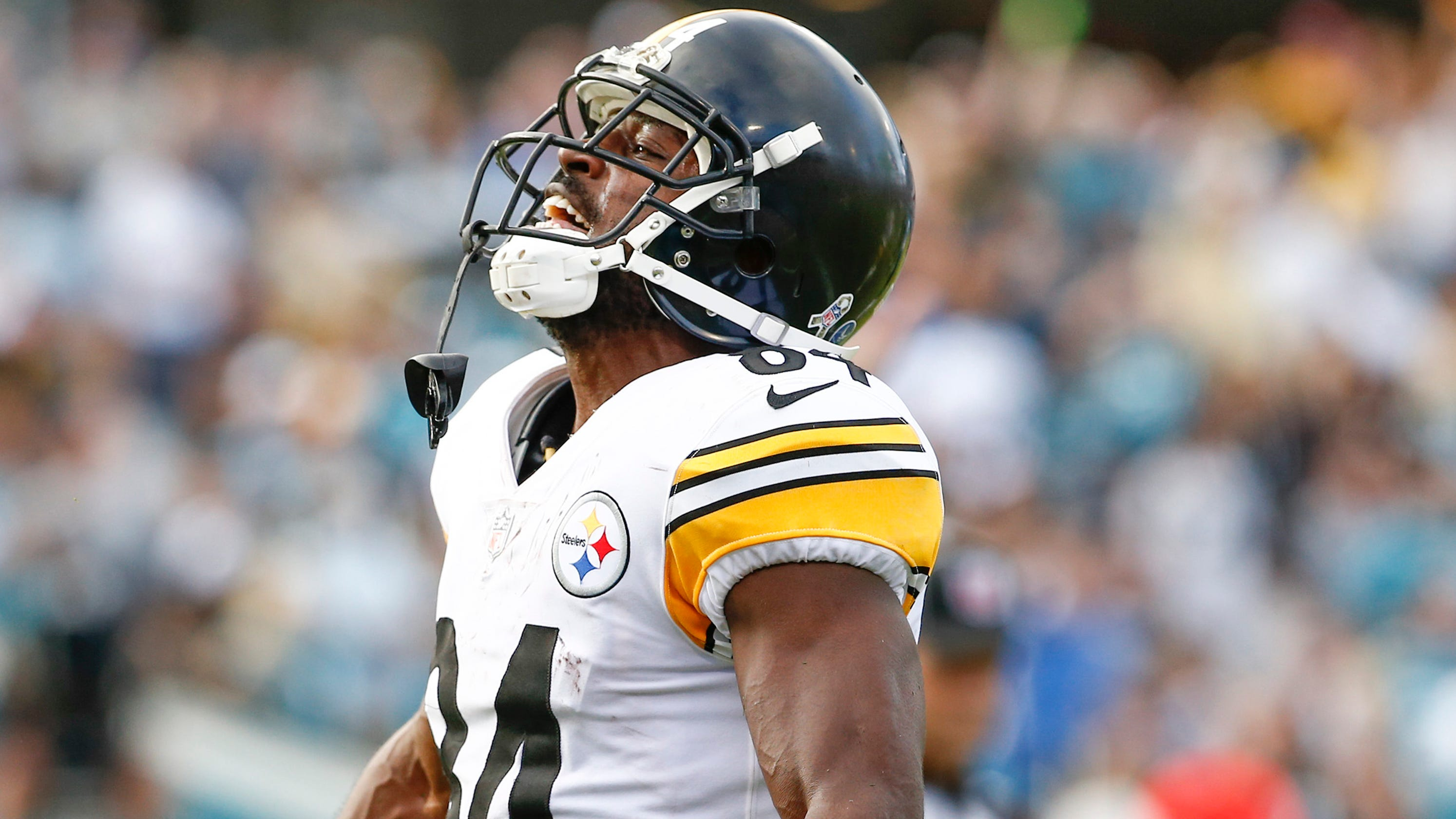 d1866c96 NFL: Steeler's Antonio Brown on roll, Jets Todd Bowles on hot seat