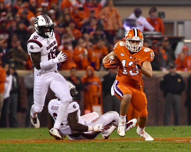 Clemson and South Carolina clash in 2018 Palmetto Bowl.