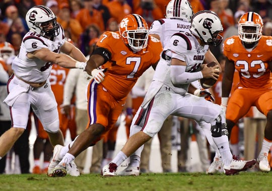 Clemson vs. South Carolina, 2018