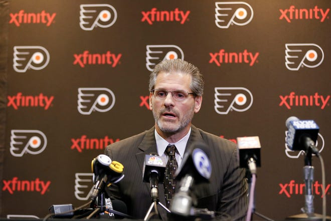 Flyers general manager Ron Hextall hoped his team would grow organically and start becoming an Eastern Conference force this season. It hasn't happened so far.