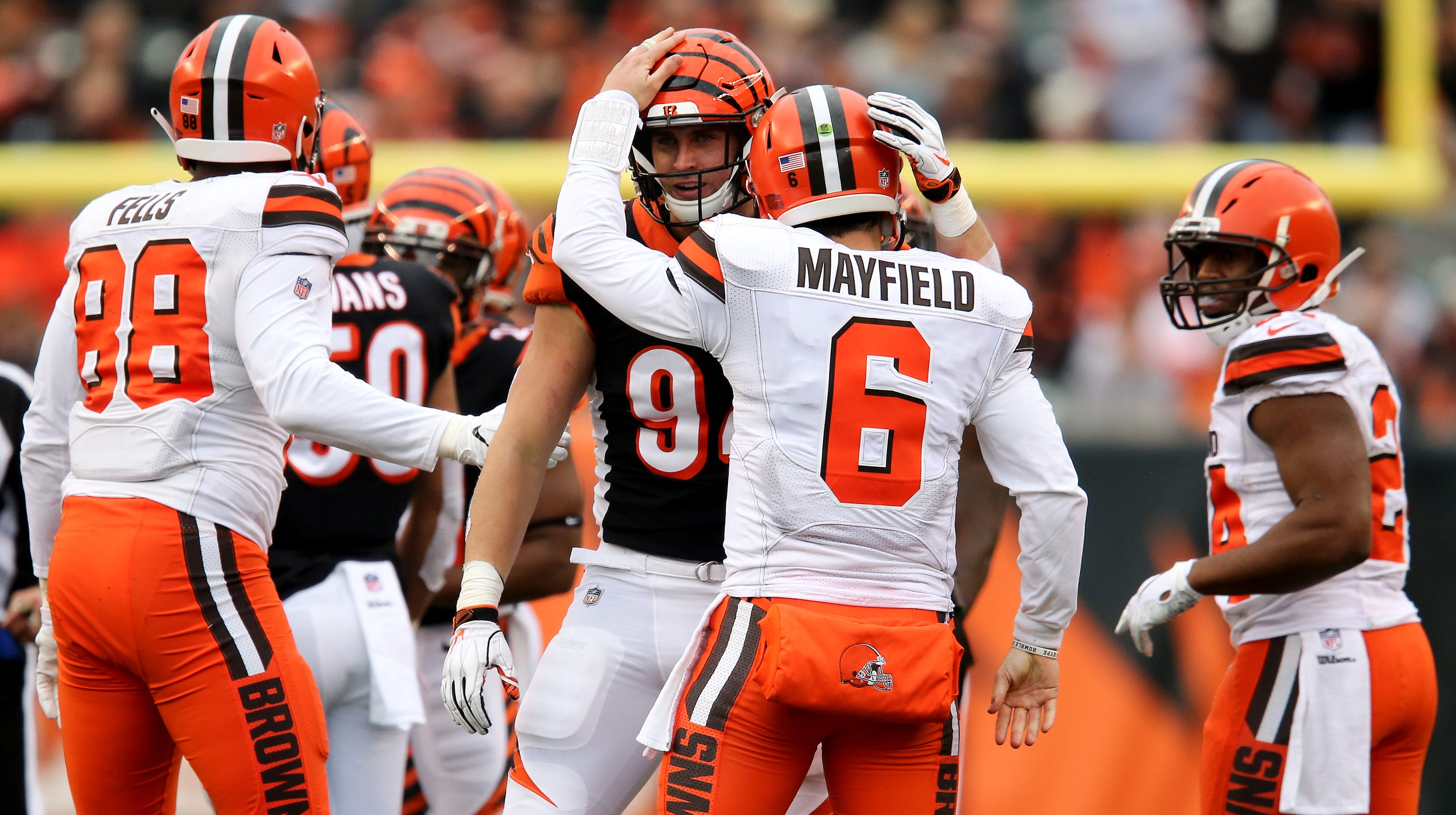 Browns QB Baker Mayfield   I m not looking for anybody s approval  9033570ba