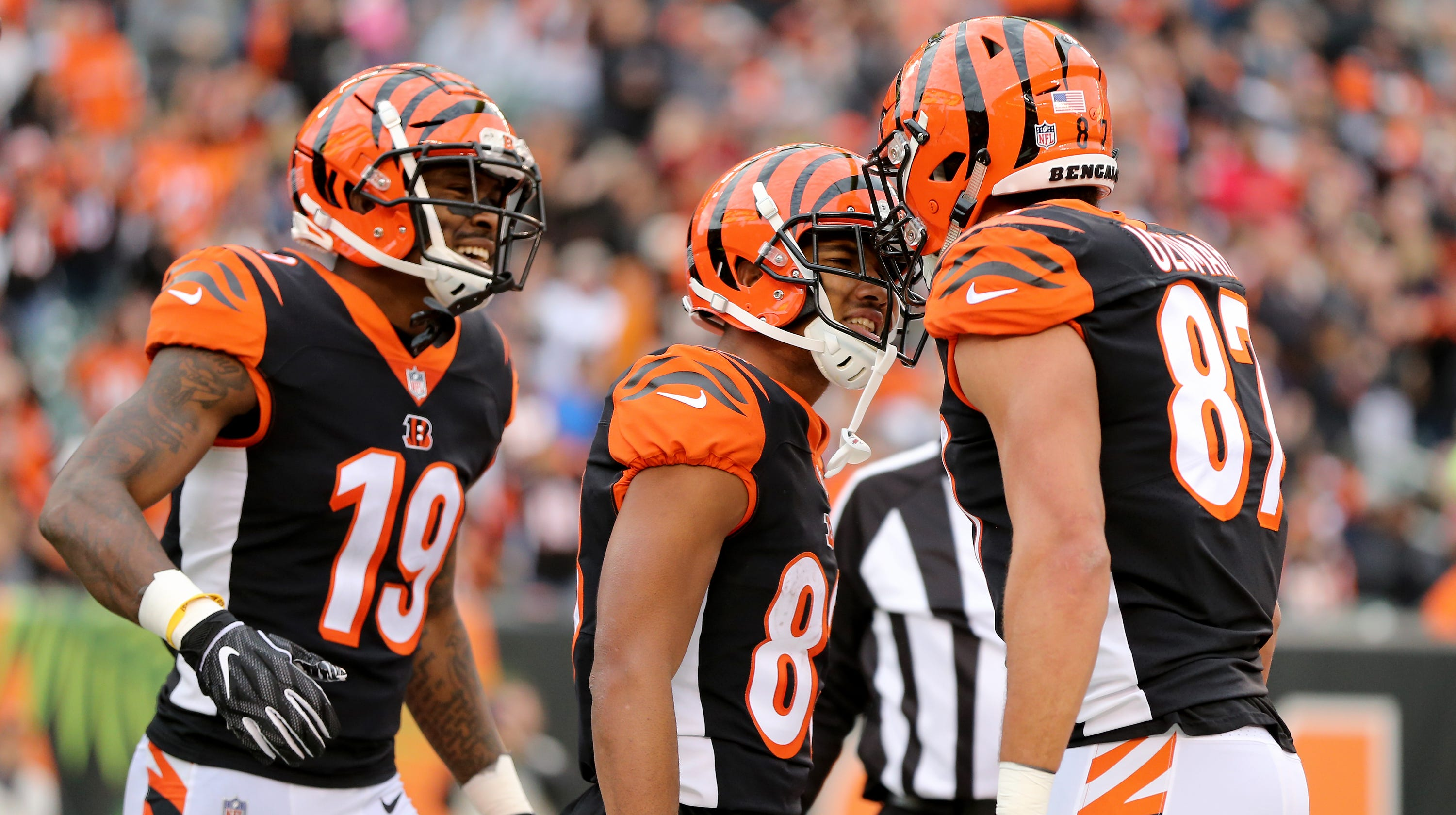 half off 610c1 da0bb Cincinnati Bengals vs. Denver Broncos: TV, odds, history and ...