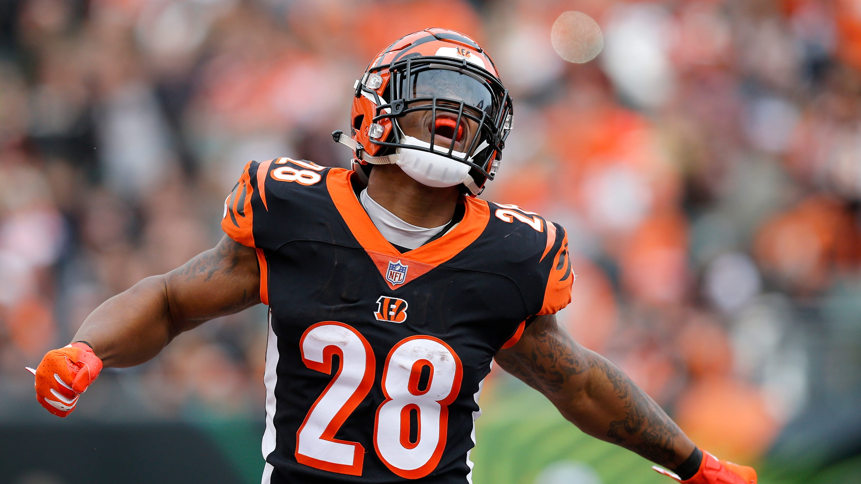 best service 42bed 4abb2 Bengals' Joe Mixon: 'Give it 100 or stay home'