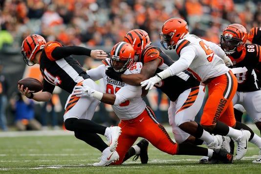 Cleveland Browns At Cincinnati Bengals