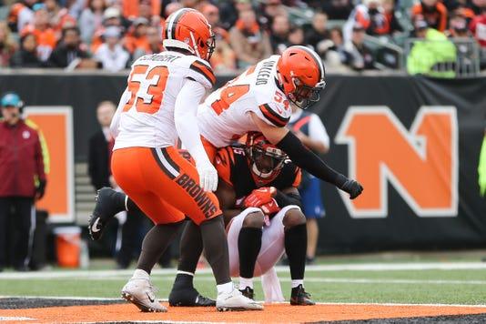 Cleveland Browns At Cincinnati Bengals 11 25 2018