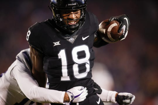 Hakeem Butler became the first Iowa State wide receiver drafted since Tracy Henderson in 1985.
