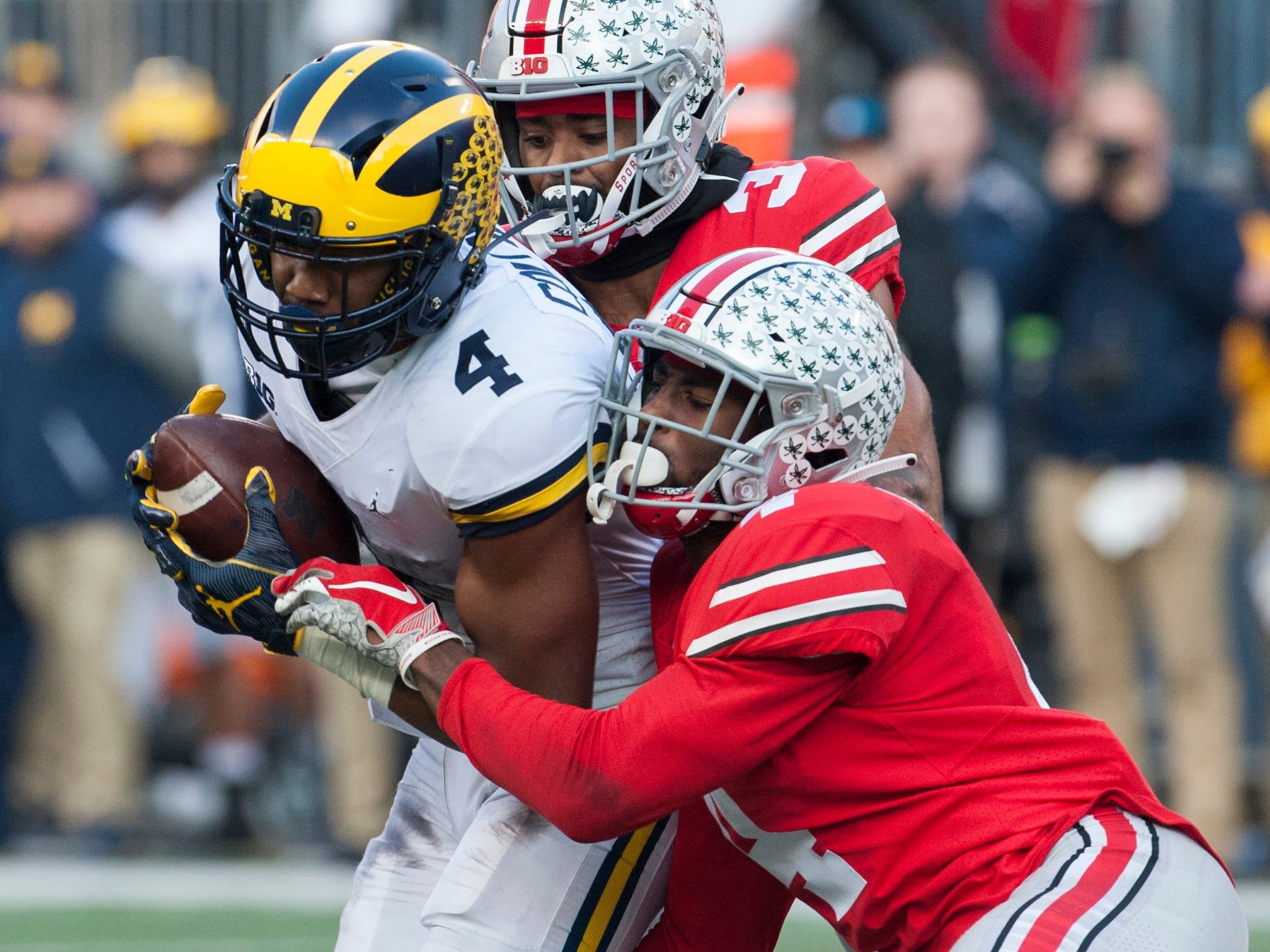 Go through the gallery to see the final Detroit News Big Ten Power Rankings for the 2018 season, compiled by Matt Charboneau.