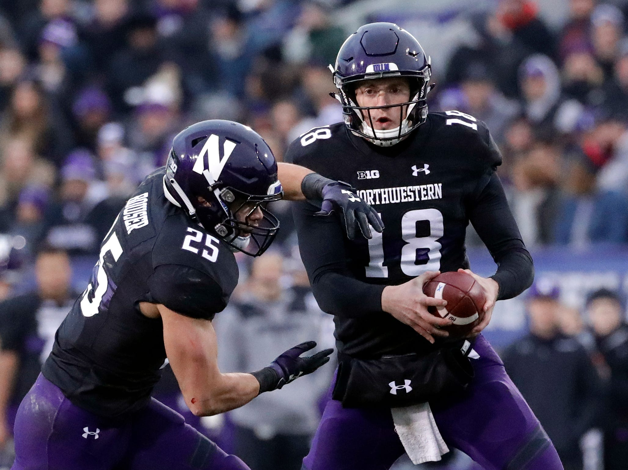 3. Northwestern (8-4, 8-1) – It wasn't exactly pretty, but with the West all wrapped up and the reservations made for Indianapolis, the Wildcats were happy to get out of Illinois with a victory and start preparing for next week's matchup with Ohio State. The Cats will be a decided underdog, but for a team that began the season 1-3, don't count on them expecting to just be happy they've gotten this far. Last week: 3.