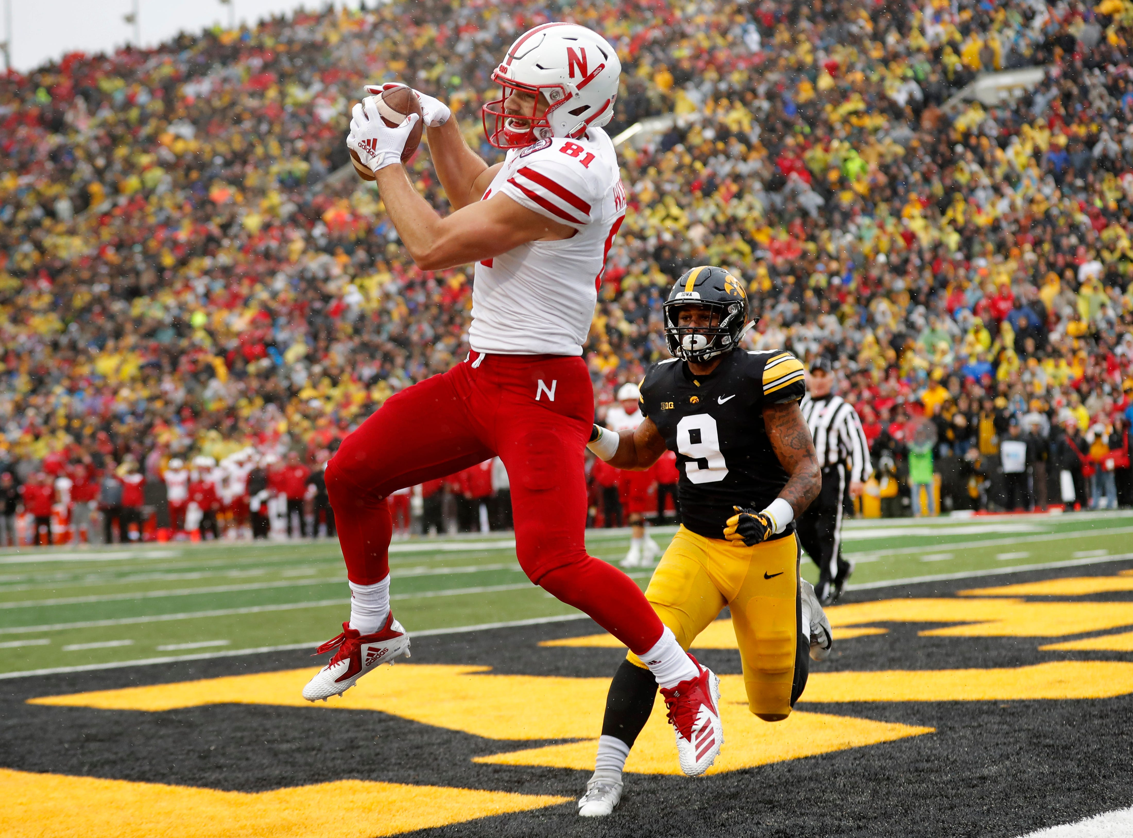 11. Nebraska (4-8, 3-6) – It was a miserable start to coach Scott Frost's tenure with the Cornhuskers as they lost their first six games. However, there were signs of life down the stretch as the Huskers' offense was rolling and they won four of their final six before falling at Iowa. While the results came up short, hopes are high for the Huskers heading into next season. Last week: 9.