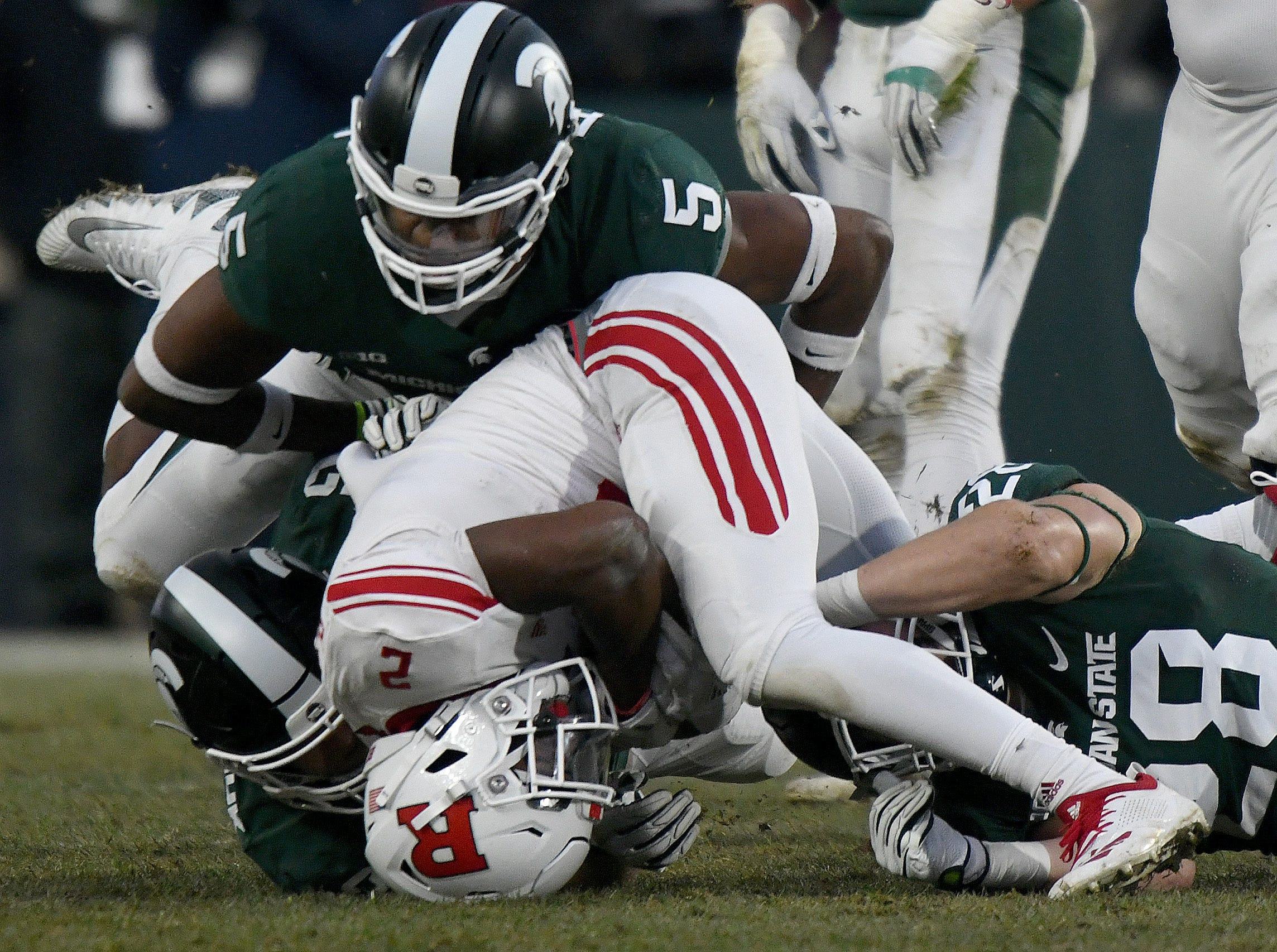 14. Rutgers (1-11, 0-9) – The Scarlet Knight nearly pulled off the upset in the finale against Michigan State for the first Big Ten win of the season. Instead, they finish winless in the conference for the second time in three seasons. Even so, coach Chris Ash was given a vote of confidence by the Rutgers brass and will be back for a fourth season. Last week: 14.