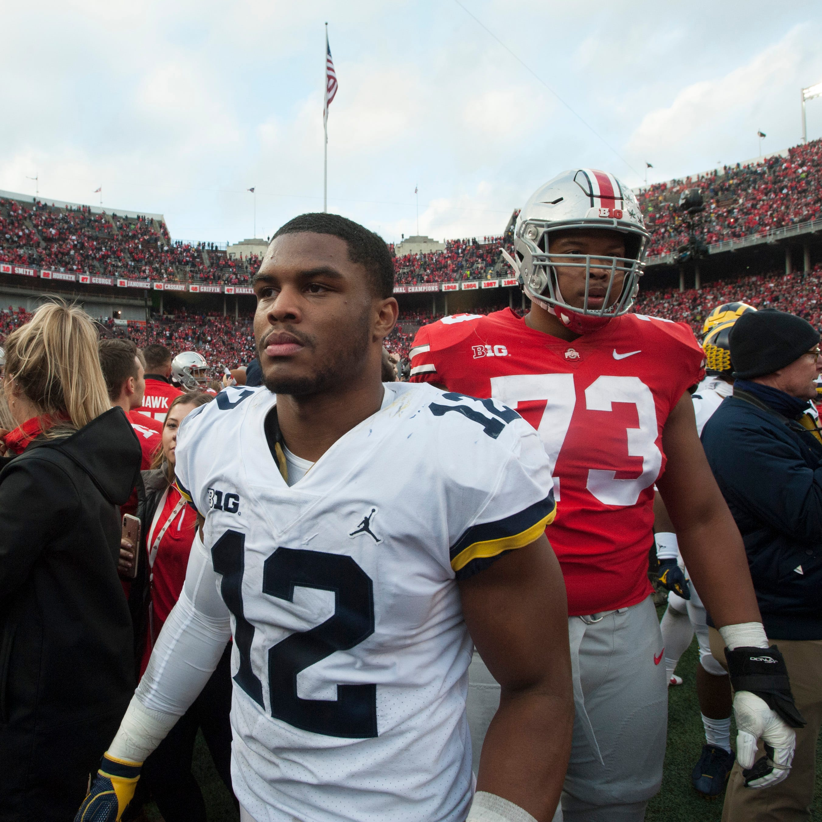 Michigan falls to No. 7 in College Football Playoff rankings