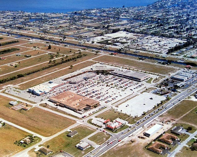 The Coralwood Mall in Cape Coral, seen here in 1979,   occupied 20 acres.Forty-one retail shops occupied 220,000 square feet of the site.