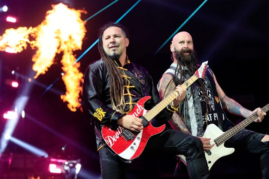 Five Finger Death Punch will rock the Pensacola Bay Center on Friday.