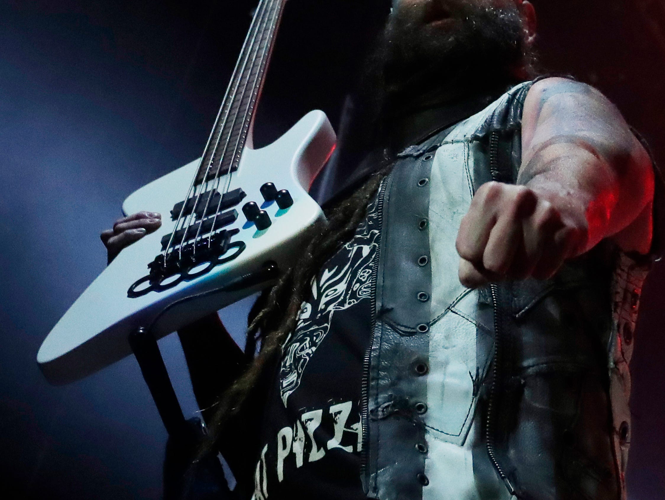 Five Finger Death Punch perform at the Resch Center on Saturday, November 24, 2018 in Ashwaubenon, Wis.