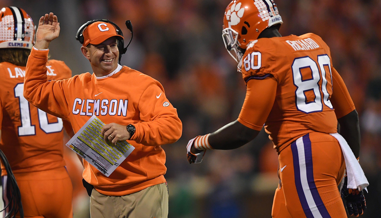 Clemson football coach Dabo Swinney rips negative ...