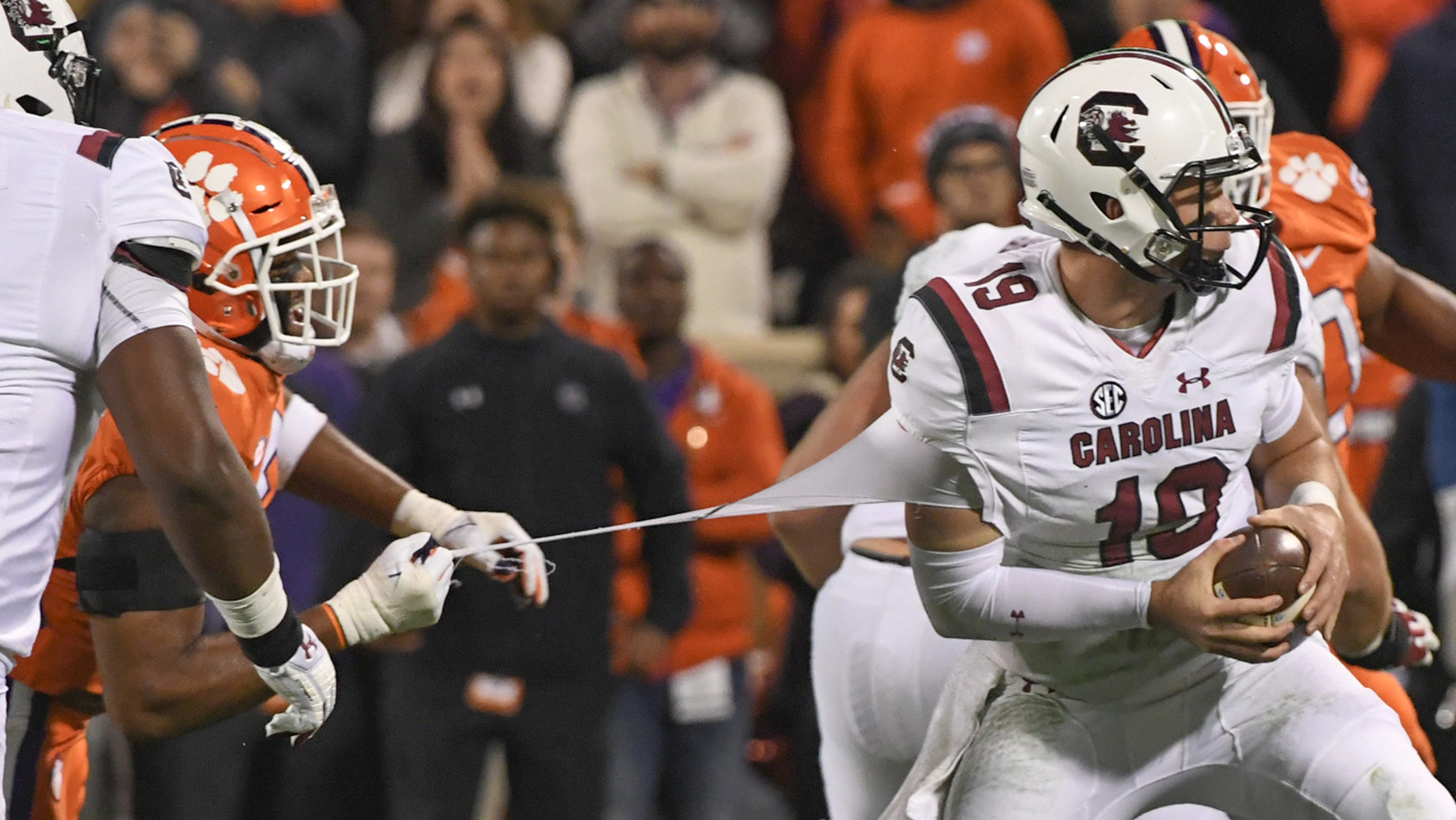 was south carolina too desperate too early against clemson football