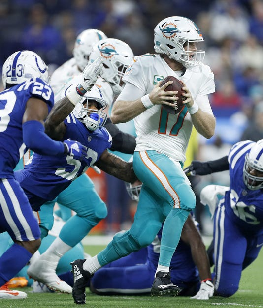 Indianapolis Colts Host The Miami Dolphins