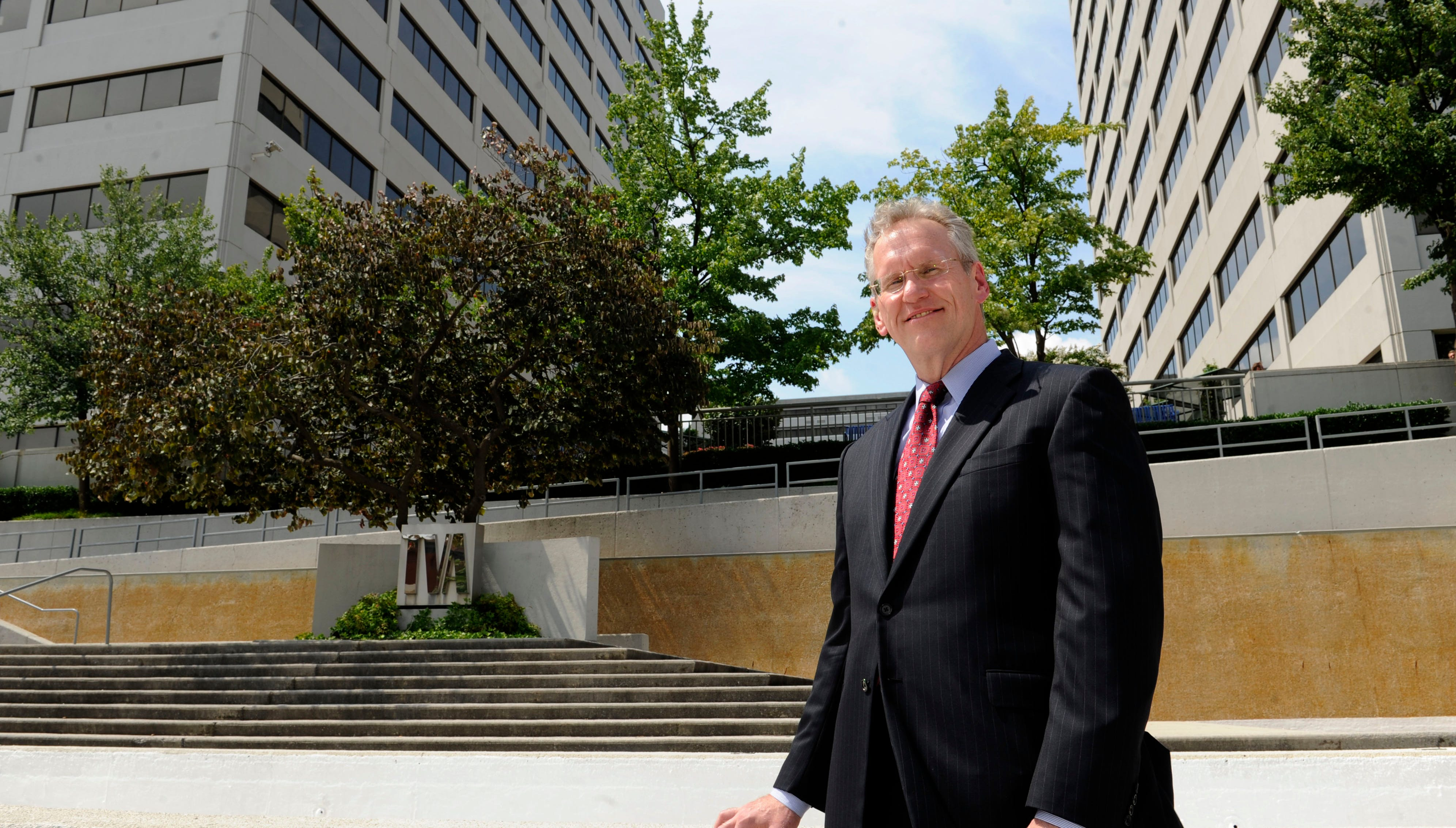 Tennessee Valley Authority CEO Bill Johnson, at the TVA Towers in downtown Knoxville, Tuesday, July 23, 2013.