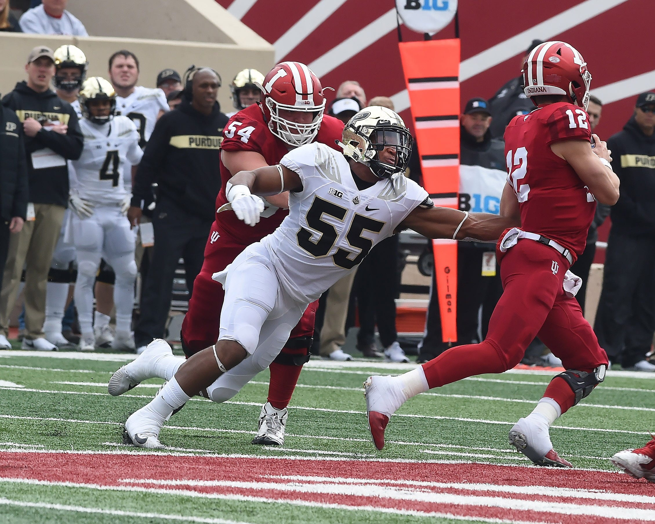 The Boilermaker faithful enjoyed a beautiful day in IU's Memorial Stadium as Purdue retains the Bucket for 2018. Derrick Barnes