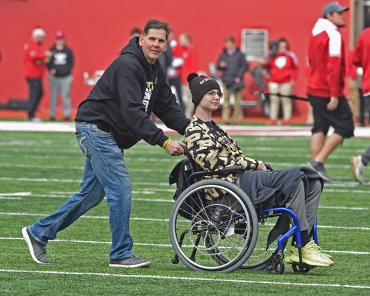 The Boilermaker faithful enjoyed a beautiful day in IU's Memorial Stadium as Purdue retains the Bucket for 2018. Tyler Trent
