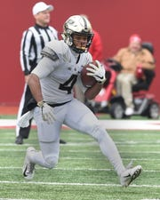 The Boilermaker faithful enjoyed a beautiful day in IU's Memorial Stadium as Purdue retains the Bucket for 2018. Rondale Moore