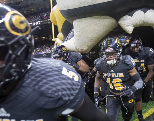 Grambling State University lost 38-28 to Southern University in the Superdome for the 45th annual Bayou Classic in New Orleans, La. on Nov. 24.