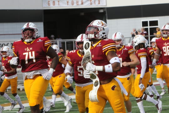 ULM's schedule includes six bowl teams and Thursday games against Grambling on August 29 and at Texas State on October 10, which will be broadcast on ESPNU.
