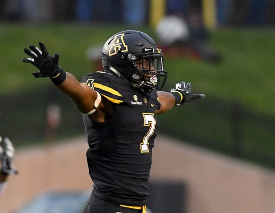 Junior Josh Thomas has started every game this year at safety for the Appalachian State Mountaineers, who have one of the nation's top defenses. He's a Montgomery Academy graduate.