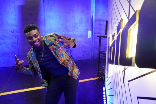 "Kirk Jay is in the top 11 on NBC's ""The Voice,"" and will perform again live on Monday, Nov. 26."
