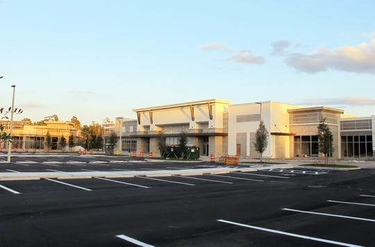 Sprouts Farmers Market, center, will anchor the new Logan Landings retail center under construction on the southeast corner of Logan Boulevard and Immokalee Road in North Naples.