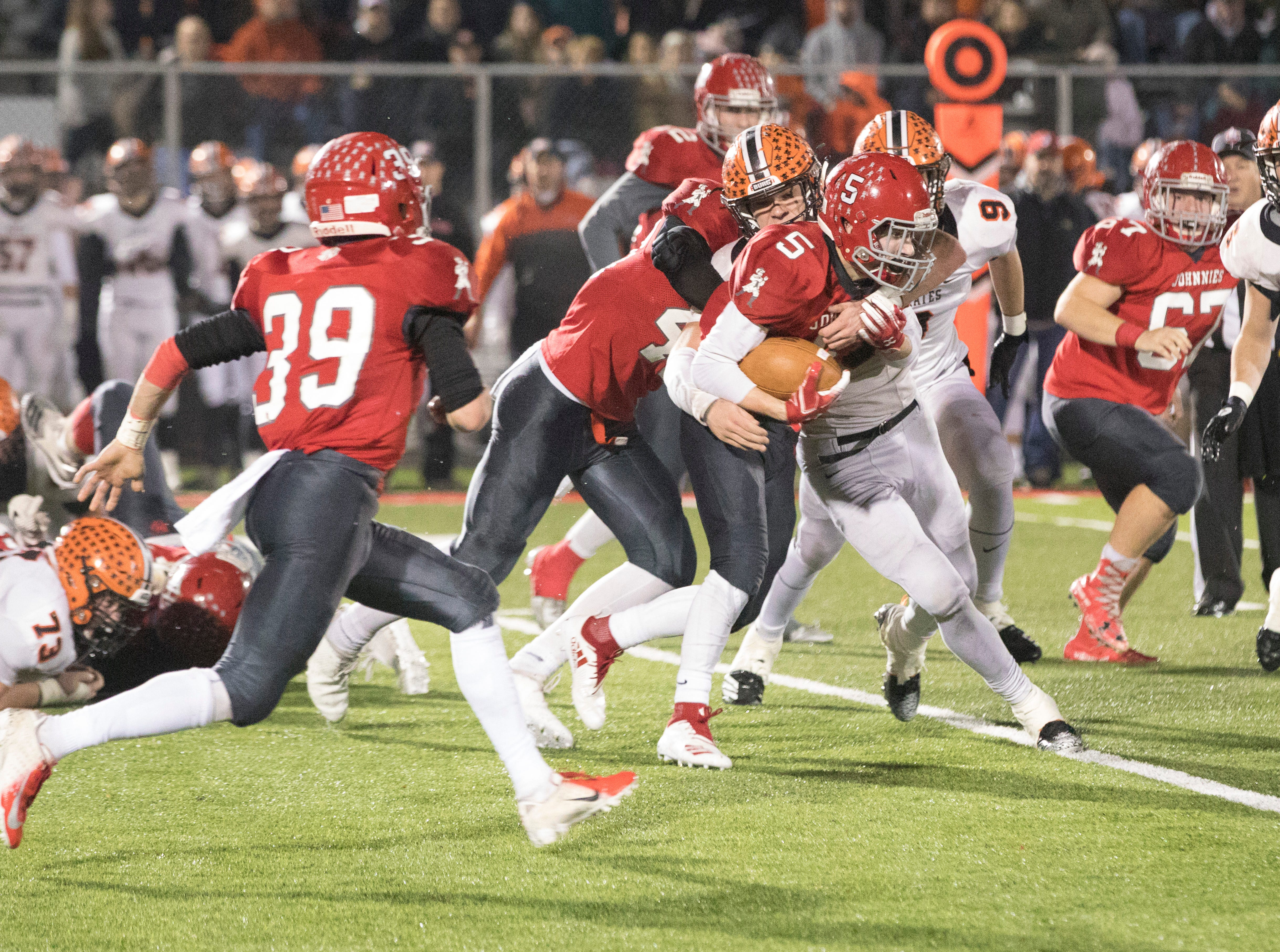 Johnstown advanced to its first state final in program history with a 32-14 victory against Wheelersburg.