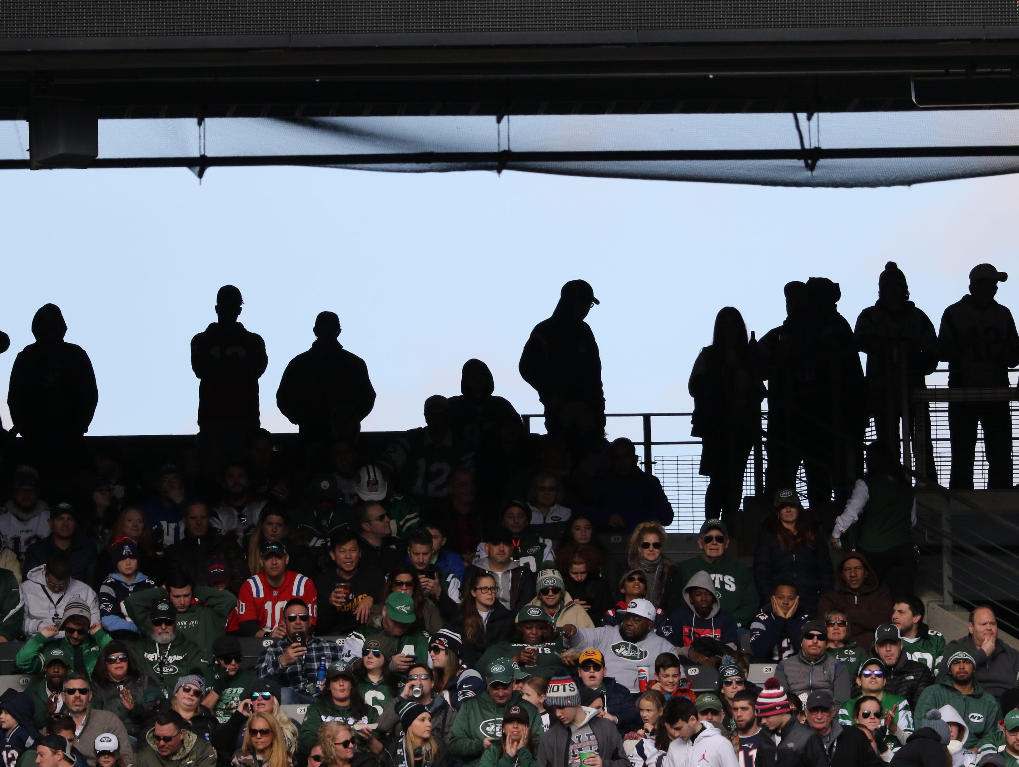 Football fans pack MetLife Stadium for Week 12 of the NFL season. Sunday, November 25, 2018