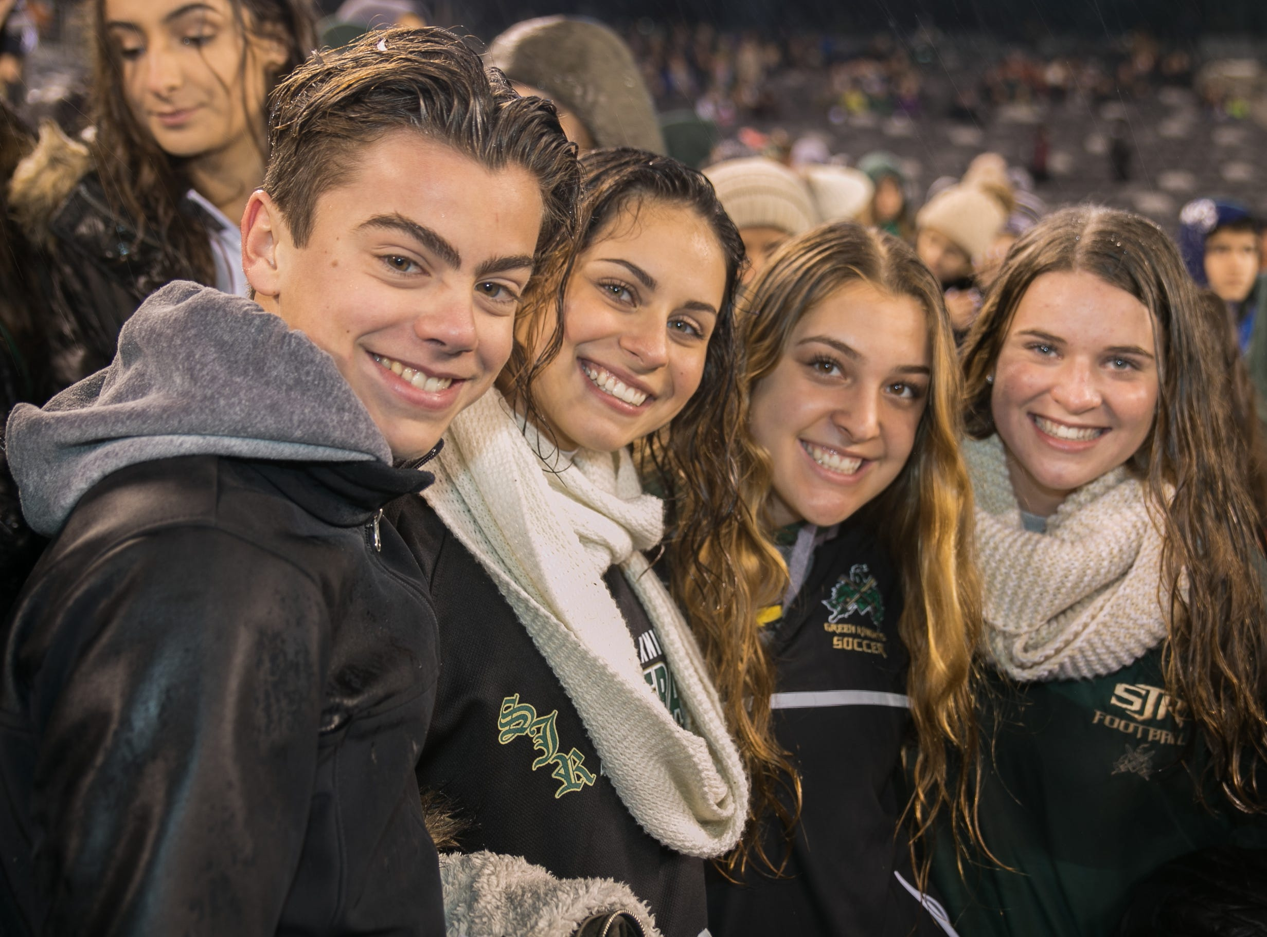 The crowd at the St. Joseph's High School versus Bergen Catholic Non Public Group 4 State title at MetLife Stadium. St. Joseph's beat Bergen Catholic 13-0. 11/24/2018