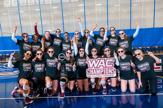 New Mexico State volleyball claims WAC title