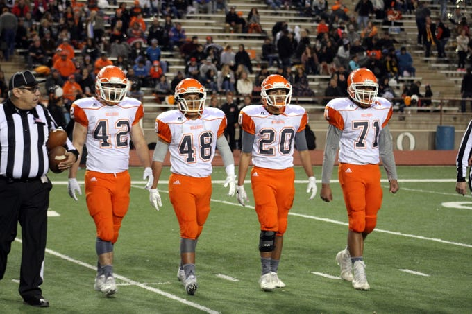 Pregame photos from Friday's 5A semifinal game between Artesia and Roswell.