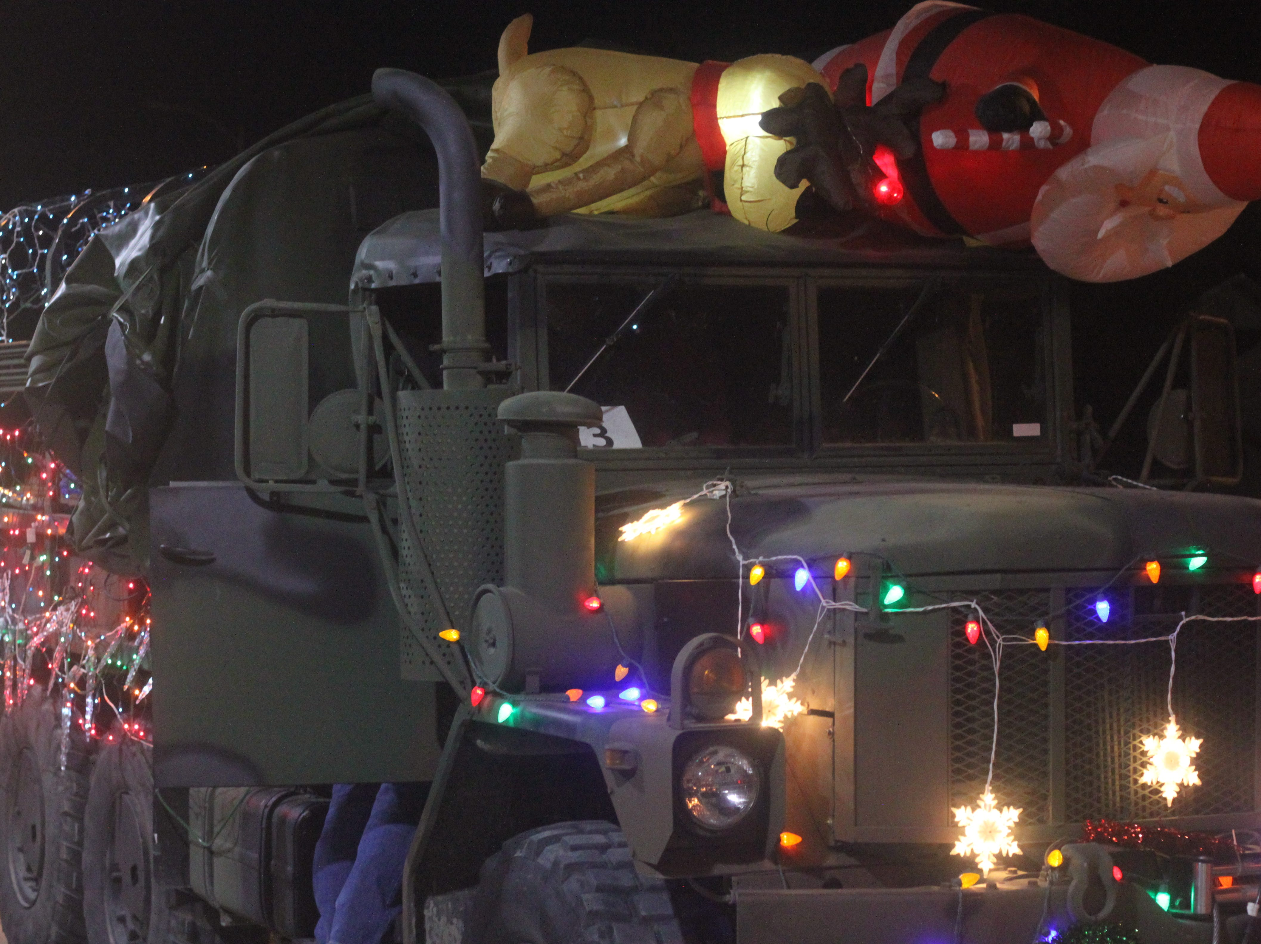 The annual Light Parade runs through downtown Carlsbad, Nov. 24, 2018 in downtown Carlsbad.
