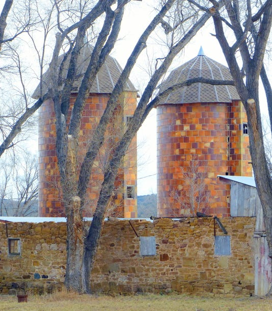 Silos At Fort Stanton